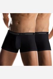 2 pack pánskych boxeriek UOMO Noir kratšie