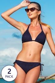 2 pack ženskih dvodijelnih kupaćih kostim Valencia Regular