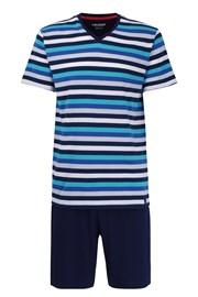 Aqua PLUS SIZE csíkos pizsama
