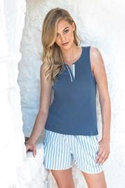Damska piżama - top i krótkie spodenmi