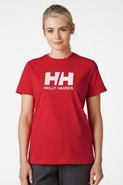 Damski czerwony T-shirt Helly Hansen