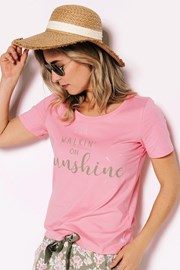 Sunshine női pizsama póló