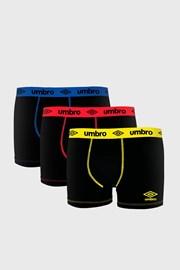 3 PACK bavlnených boxeriek Umbro