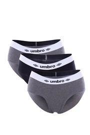 Trójpak samskich fig sportowych Umbro A1