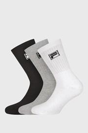 3 pack три цвята дълги чорапи с лого FILA