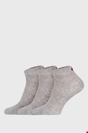 3 pack сиви къси чорапи FILA
