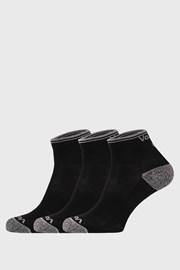 3 pack športových ponožiek Ray čierne