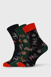 3 PACK vianočných ponožiek Despate