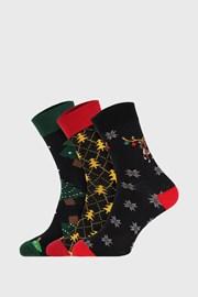 3 PACK vianočných ponožiek I