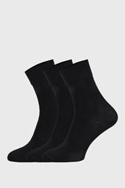 3 PACK черни спортни чорапи