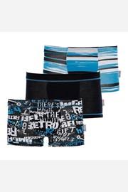 3 pack боксерки за момчета Blue