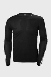 Czarny T-shirt z długimi rękawami Helly Hansen
