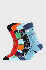 4 PACK ponožiek Bellinda Crazy Socks Winter