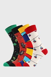 4 PACK ponožiek Bellinda Crazy Socks Alien