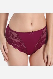 Chilot Morning Lace Red clasic, talie inalta