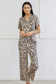 Сатенена пижама Animal