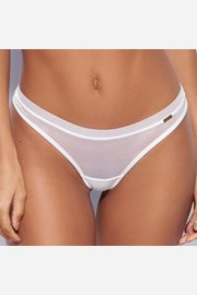 Tanga σλιπ Gossard Glossies White