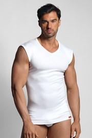 Biele termo tričko bez rukávov