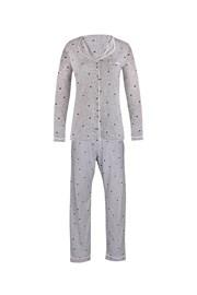 Дамска пижама Pygt сива