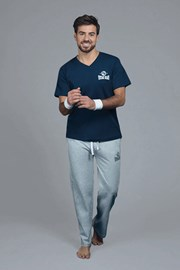 Tmavomodré pyžamové tričko Marine