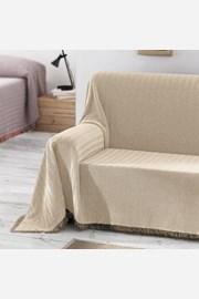 Aitana kanapévédő takaró, bézs