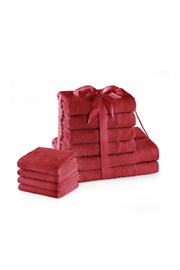 Súprava uterákov Amari Family červená