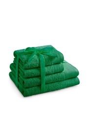 Zöld törölköző szett Amari