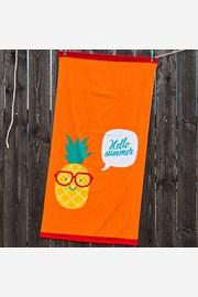 Dziecięcy ręcznik plażowy Ananas
