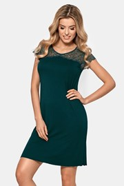 Anastasia női hálóing, sötétzöld