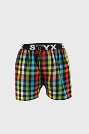 Kockás mintás alsónadrág STYX