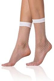 Модерни мрежести чорапи Bellinda NET бели