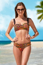 Dwuczęściowy damski kostium kąpielowy Naranja