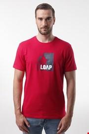 Червена тениска LOAP Alien