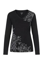 Bluza pentru femei LOAP Addie, negru