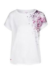 Дамска бяла тениска LOAP Alyssa