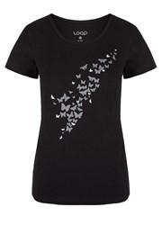 LOAP Adamia női póló, fekete