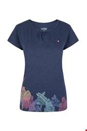Niebieski damski T-shirt LOAP Blackie