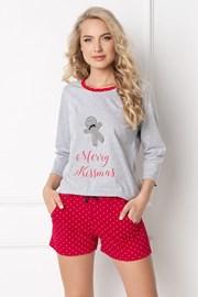Дамска пижама Cookie къса