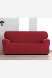 Creta háromszemélyes kanapéhuzat, piros