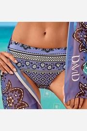 Slip costum de baie Elisea, albastru-violet
