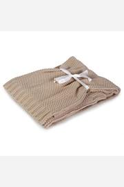 Pletená detská deka Tully béžová
