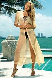 Плажна рокля Glamour gold