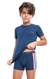 Fiú alsónemű szett II, póló és boxeralsó