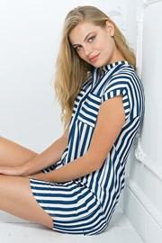 Дамска рокля за свободното време синя