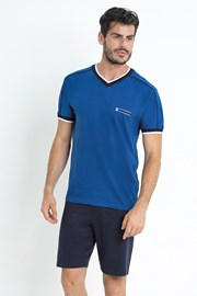 Pijama Gregor, albastru