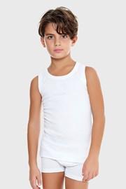 Fehér fiú alsó trikó basic E. Coveri