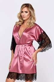 Γυναικεία ρόμπα Escora ροζ
