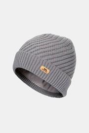 Дамска сива шапка Twisted