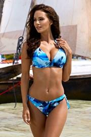 Dwuczęściowy kostium kąpielowy Gabi Blue