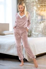 Geri női otthoni szett, rózsaszínű